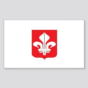 lille Rectangle Sticker