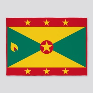 Flag of Grenada 5'x7'Area Rug