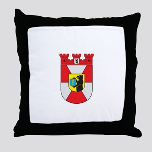 mitte dist Throw Pillow