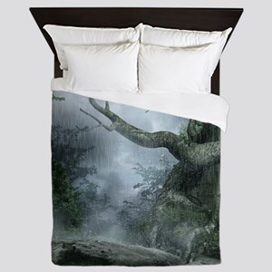 Rainy Forest Queen Duvet