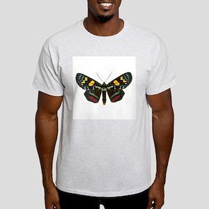 Multicolored Agarista White T-Shirt