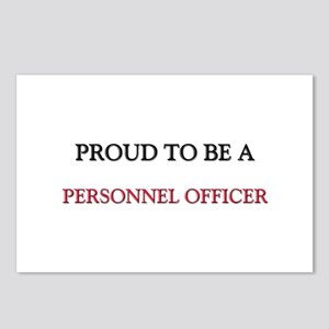 Proud to be a Personnel Officer Postcards (Package