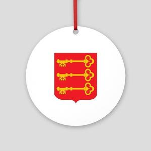 avignon Ornament (Round)