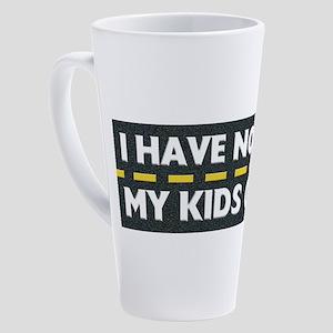 My Kids Golf 17 oz Latte Mug