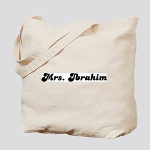 Mrs. Ibrahim Tote Bag