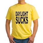 Daylight Sucks Yellow T-Shirt