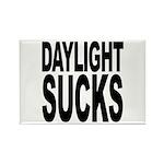 Daylight Sucks Rectangle Magnet