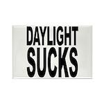 Daylight Sucks Rectangle Magnet (100 pack)