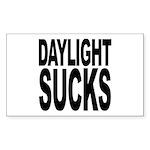 Daylight Sucks Rectangle Sticker