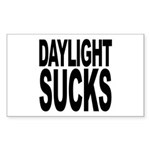 Daylight Sucks Rectangle Sticker 50 pk)