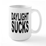 Daylight Sucks Large Mug