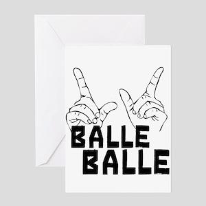 Balle Balle Greeting Card