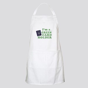 I'm a Green Card holder BBQ Apron