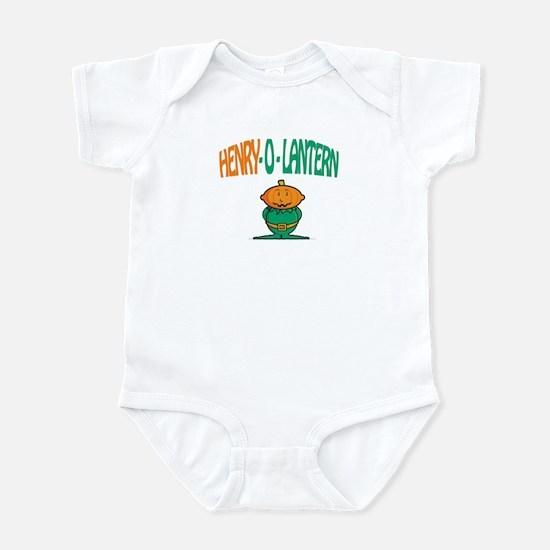 Henry-O-Lantern Infant Bodysuit