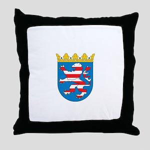 hessen city Throw Pillow
