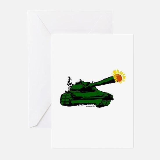 Sunflowertank Greeting Cards (Pk of 10)