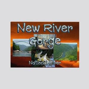 ABH New River Gorge Rectangle Magnet