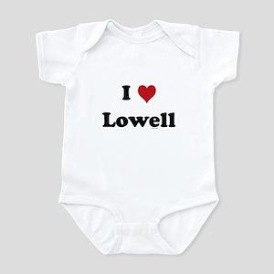 I love Lowell Infant Bodysuit