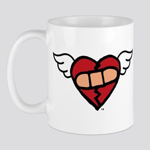 """Winged Heart"" Mug"