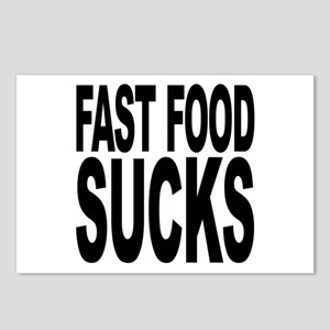 Fast Food Sucks Postcards (Package of 8)