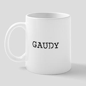 Gaudy Mug