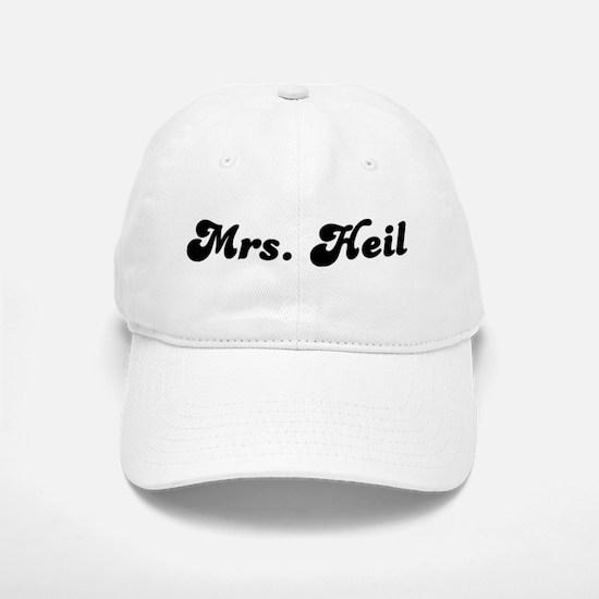 Mrs. Heil Baseball Baseball Cap