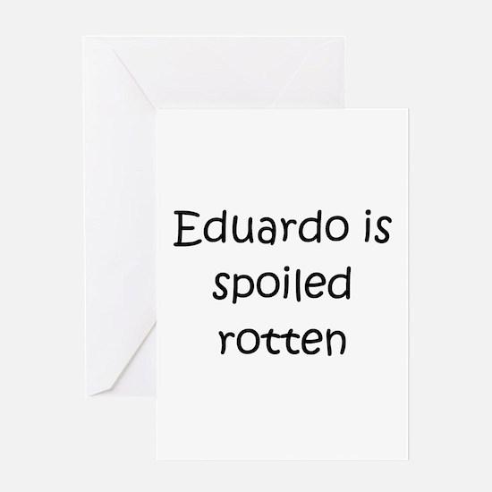 Cute Baby eduardo Greeting Card