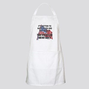 2nd AMENDMENT BBQ Apron