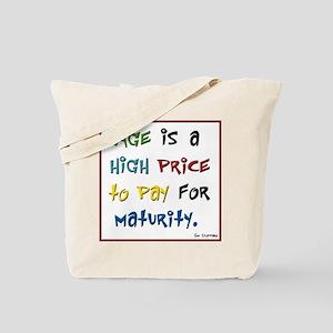 adult birthday high price Tote Bag