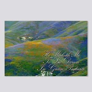 He Maketh Me To Lie Down Postcards (Package of 8)