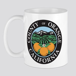 Orange County Seal Mug
