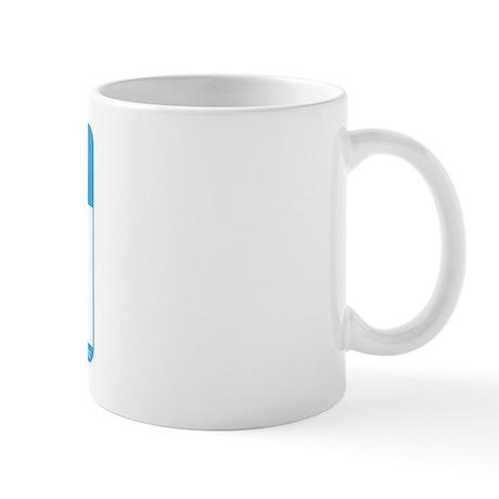 Blank Name Tag Mug