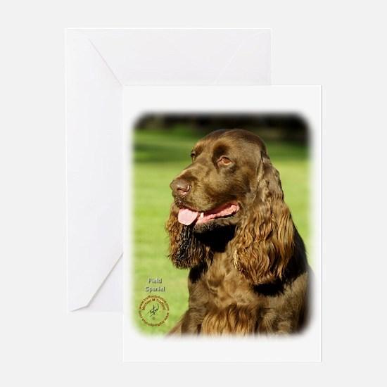 Field Spaniel 9P018D-158 Greeting Card