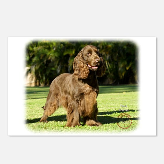 Field Spaniel 9P018D-046 Postcards (Package of 8)