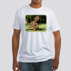 Field Spaniel 9P018D-046 Fitted T-Shirt