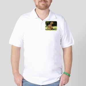 Field Spaniel 9P018D-046 Golf Shirt