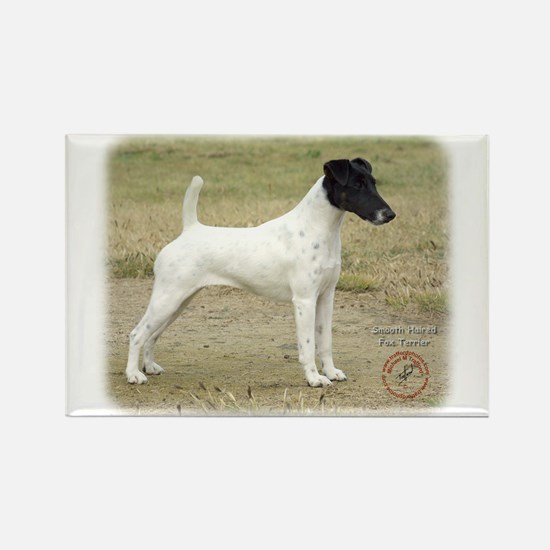 Fox Terrier 9P011D-093 Rectangle Magnet