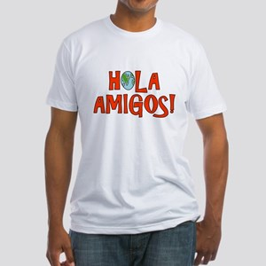 Hello Friends Spanish Fitted T-Shirt