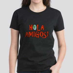 Hello Friends Spanish Women's Dark T-Shirt
