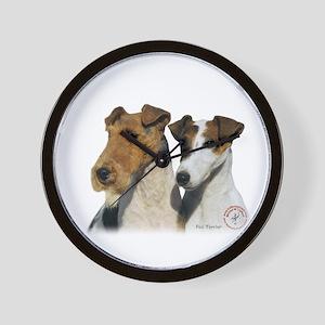 Fox Terrier 9T008D-30 Wall Clock