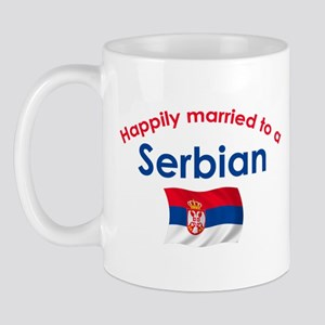 Happily Married Serbian 2 Mug