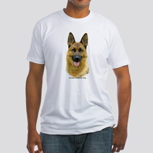 German Shepherd 9B51D-11 Fitted T-Shirt