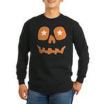 Pumpkin Star Long Sleeve Dark T-Shirt