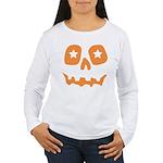 Pumpkin Star Women's Long Sleeve T-Shirt