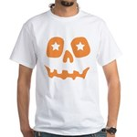 Pumpkin Star White T-Shirt