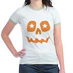 Pumpkin Star Jr. Ringer T-Shirt