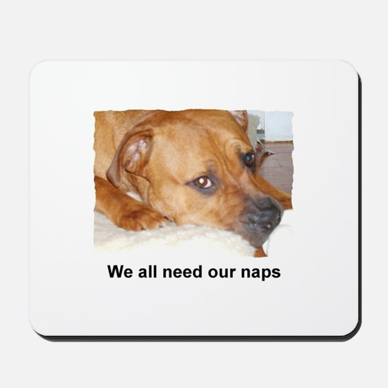 WE ALL NEED OUR NAPS Mousepad