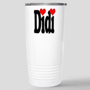 I love Didi Stainless Steel Travel Mug