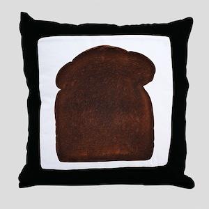 Burnt Toast Throw Pillow