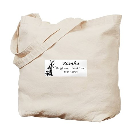 Bambu Anniversary Tote Bag